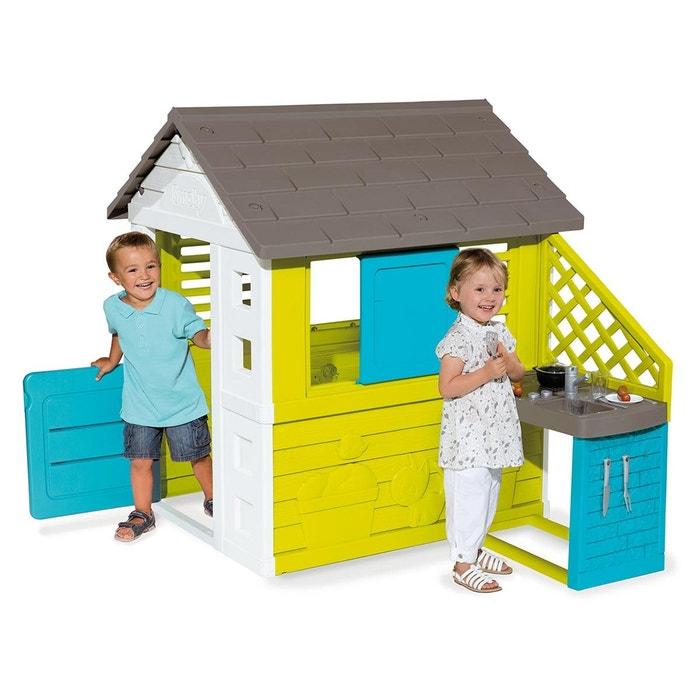 cabane enfant pretty cuisine d 39 t smoby la redoute. Black Bedroom Furniture Sets. Home Design Ideas