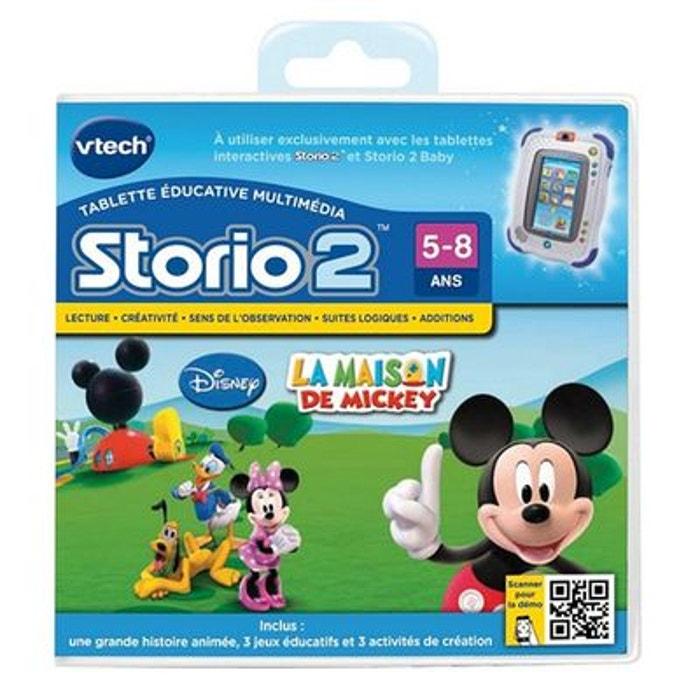 La Maison de Mickey - Jeu Storio - VT230405 VTECH