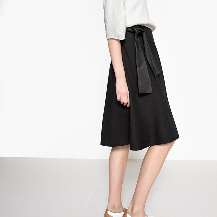Tie Side Midi Skirt  MADEMOISELLE R image 0