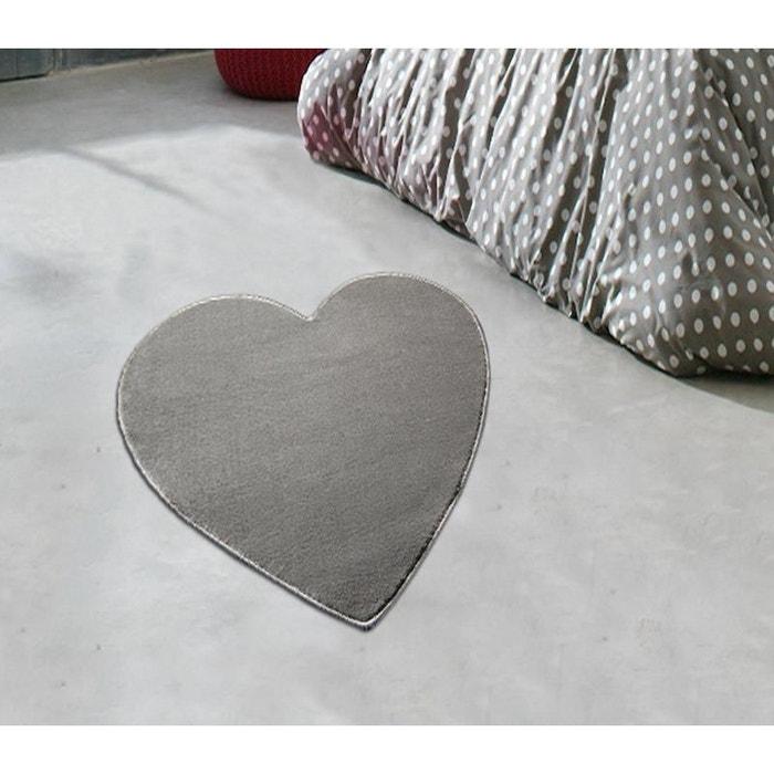 tapis coeur gris gris natacha b | la redoute