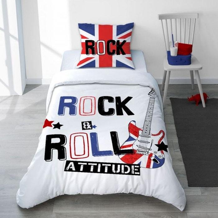 Parure Housse De Couette Musique London Rock Pour Chambre Ado