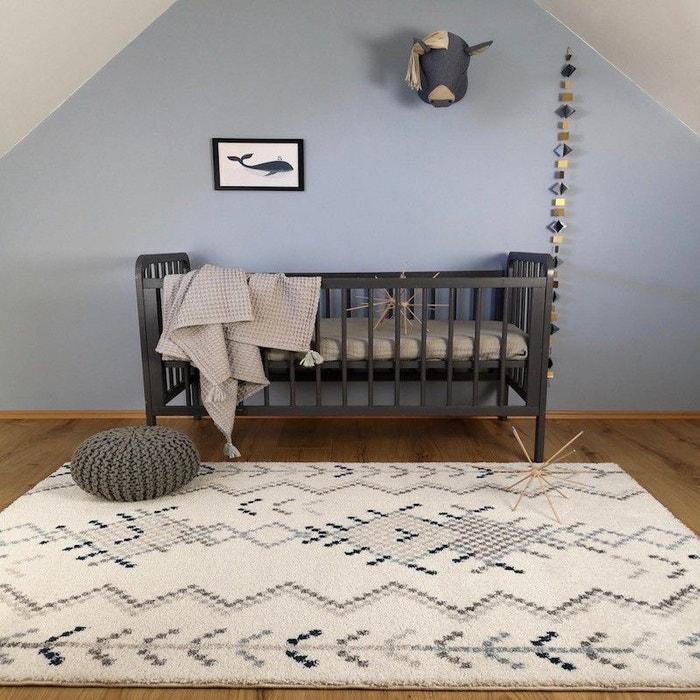 SIDI écru et bleu rectangle pour Chambre bébé par Nattiot