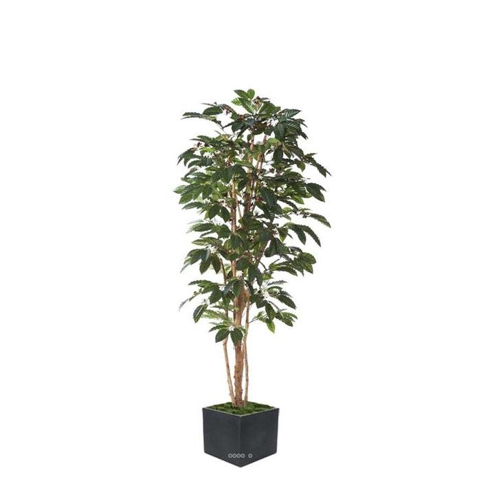 cafeier artificiel h 180 cm 540 feuilles fleurs et grains. Black Bedroom Furniture Sets. Home Design Ideas