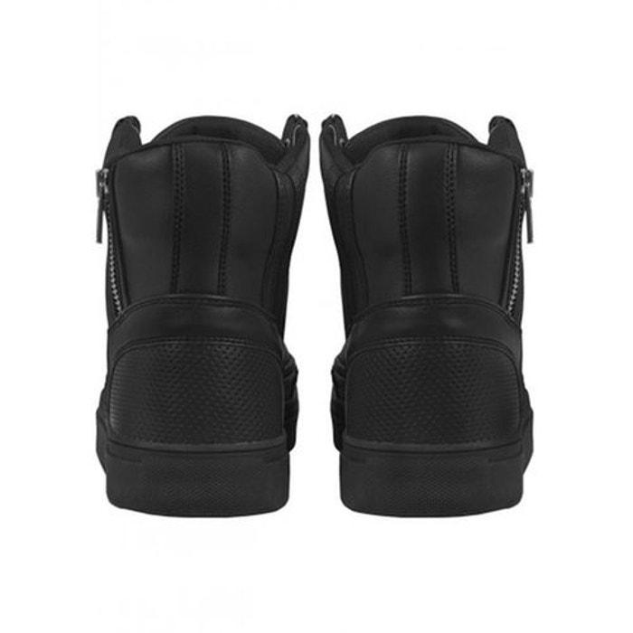 Chaussures montantes avec zip noir Urban Classics   La Redoute cd72b1ae3594