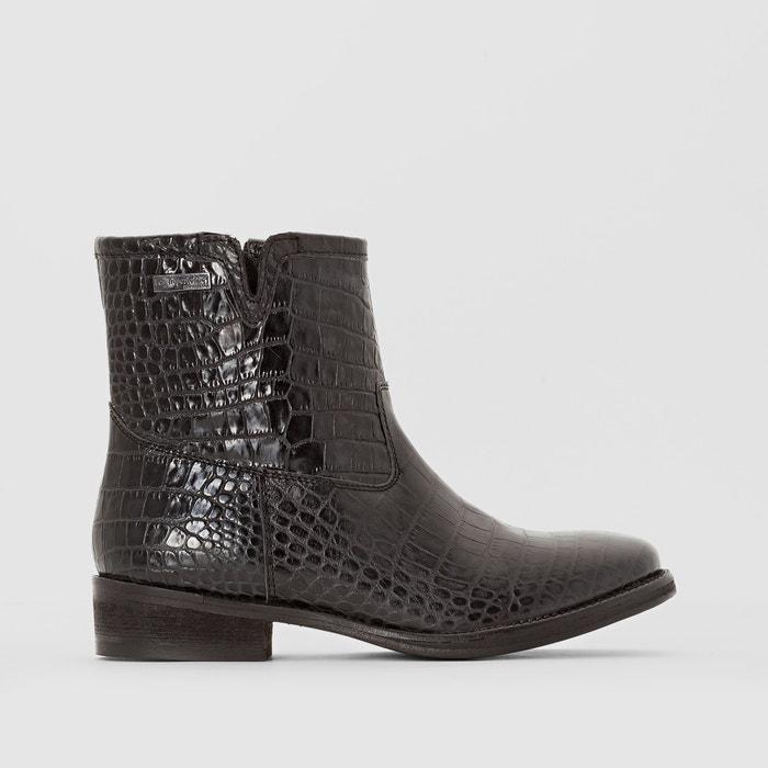 afbeelding Boots in leer Country LES TROPEZIENNES PAR M.BELARBI