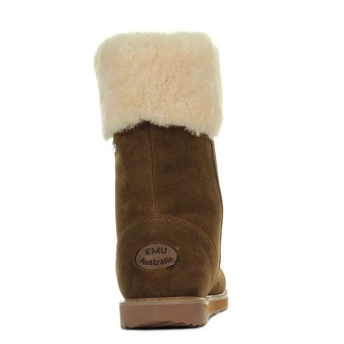 marron Australia shoreline femme Emu oak Boots beige 5Ytx7TY
