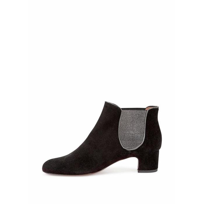 Boot francelle noir Heyraud