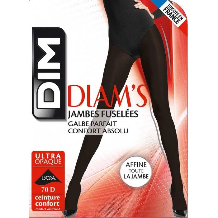 Collant dim jambes fuselées 70d noir Dim  b435c641513
