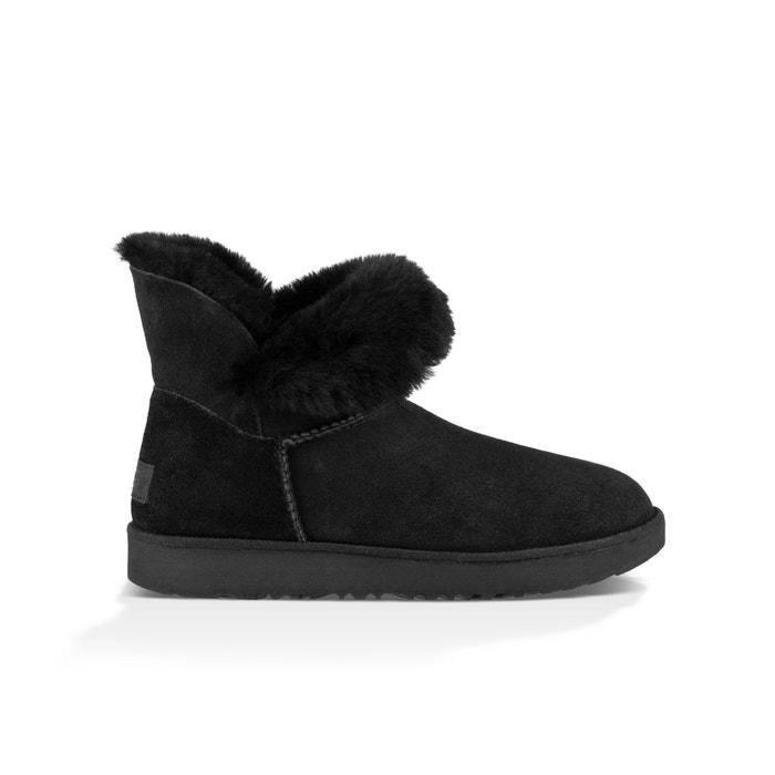 94f22288f3c Classic Cuff Mini Fur-Lined Ankle Boots