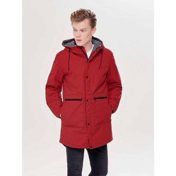 e77e95ec45946 Veste hiver haute red Only Et Sons   La Redoute