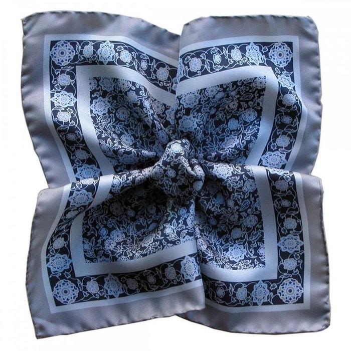 Pochette soie, segni et disegni, auteuil bleu bleu Segni Et Disegni | La Redoute