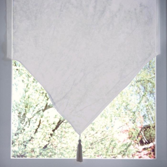 Vitrage pointe à pompon passe tringle JUBBA  La Redoute Interieurs image 0