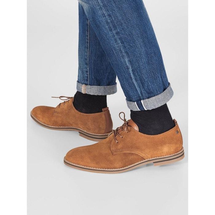 Chaussures habillées suédine  cognac Jack & Jones  La Redoute