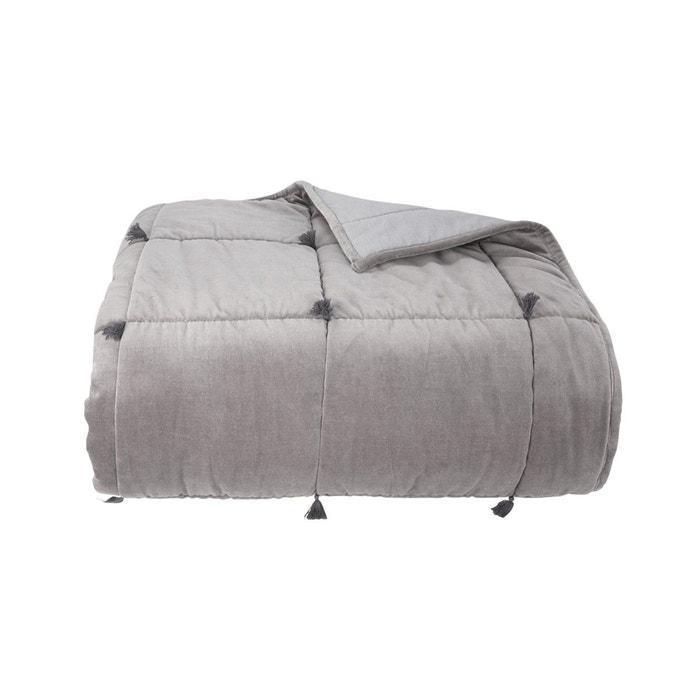 couvre lit bolero gris olivier desforges la redoute. Black Bedroom Furniture Sets. Home Design Ideas