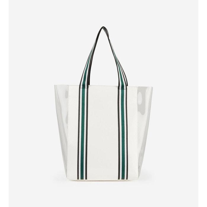 b4b267b6c6 Sac cabas plexi blanc et transparent Galeries Lafayette | La Redoute