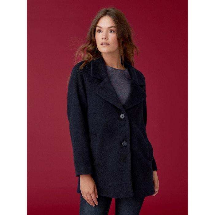 796ebee88816 Manteau femme drap de laine mohair
