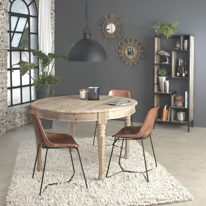 Table manger en bois recycl 3 allonges authentiq khr made in meubles la redoute - Table a manger la redoute ...