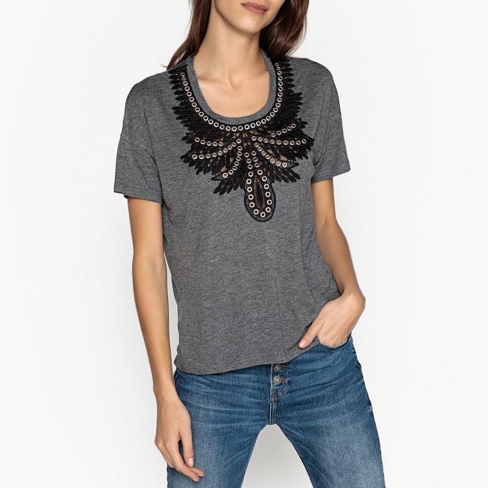 Short-Sleeved Bib Front T-Shirt  THE KOOPLES image 0