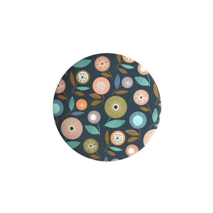 Miroir fleurs pastilles multicolore mini labo la redoute for Miroir 180x90