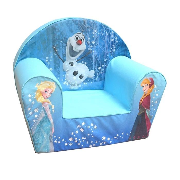 fauteuil club mousse olaf anna et elsa reine des neiges. Black Bedroom Furniture Sets. Home Design Ideas
