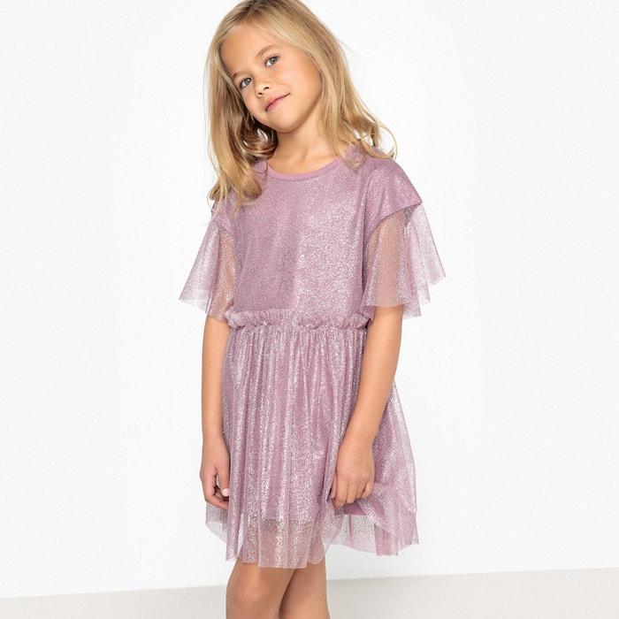 Платье из блестящего тюля на подкладке 3-12 лет  La Redoute Collections image 0