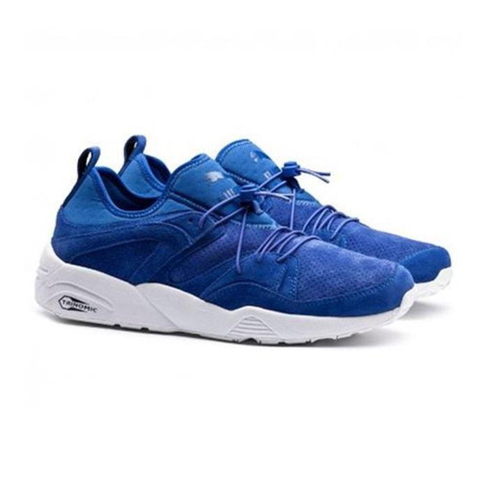 puma bleu trinomic