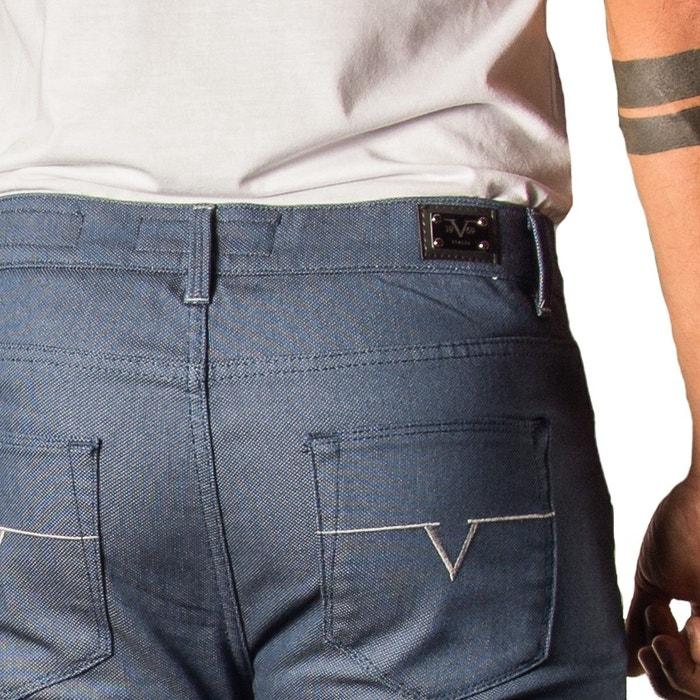 Jean homme capri coton elastane livré avec son etui cadeau couleur bordeaux  Versace 19.69   La Redoute 5f828e23143