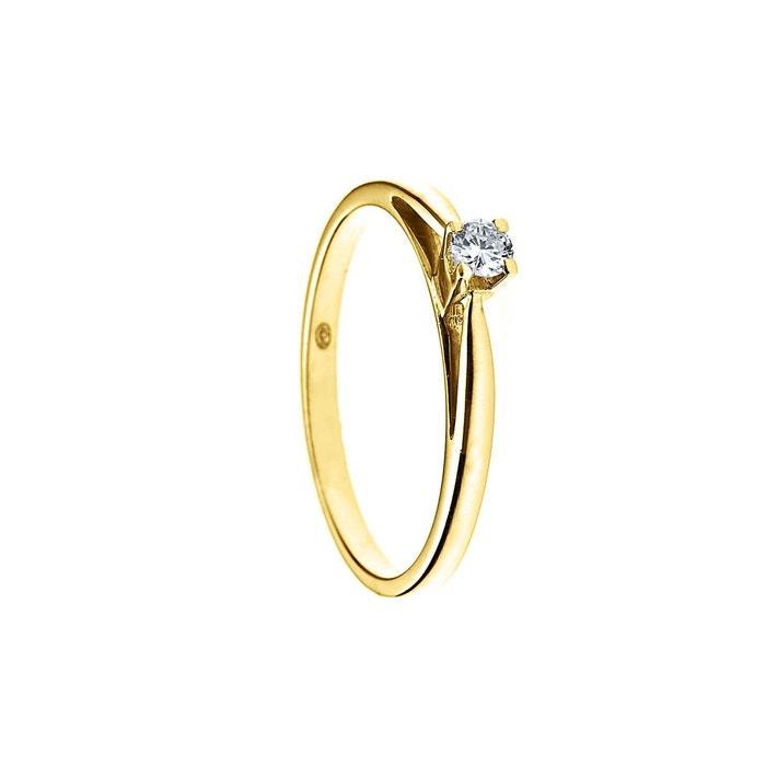 Réduction 2018 2018 Plus Récent Prix Pas Cher Bague solitaire diamant Grande Vente Prix Le Plus Bas Pour La Vente Vente Exclusive TpqZ65P