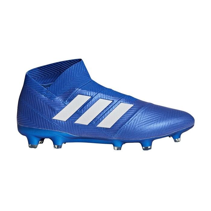 Chaussures football adidas nemeziz 18+ fg bleu bleu Adidas