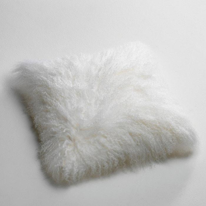 Osia Fluffy Mongolian Wool Cushion Cover  La Redoute Interieurs image 0