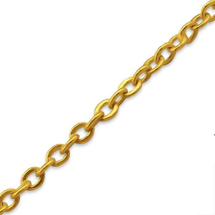 Collier chaîne longueur 45 cm vermeil (or jaune sur argent) couleur unique So Chic Bijoux   La Redoute La Sortie D'expédition Des Frais Bas Prix IrK1kcB