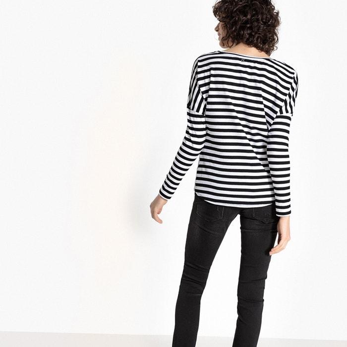 Camiseta KAPORAL cuello 5 larga estampada redondo manga q6UTz
