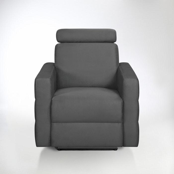 afbeelding Relaxzetel in microvezel, Hyriel La Redoute Interieurs