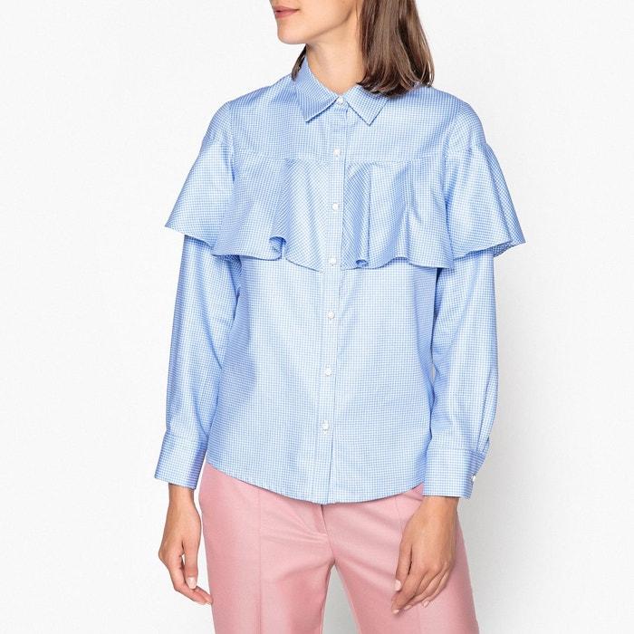 chemise petits carreaux alpilles bleu ciel paul and joe sister la redoute. Black Bedroom Furniture Sets. Home Design Ideas