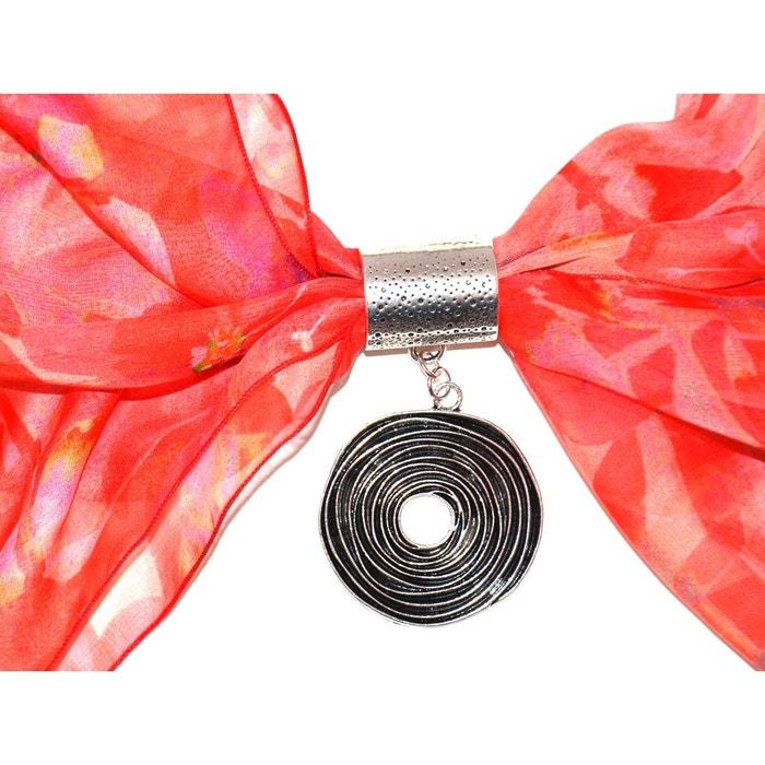 Bijou de foulard ROND en métal