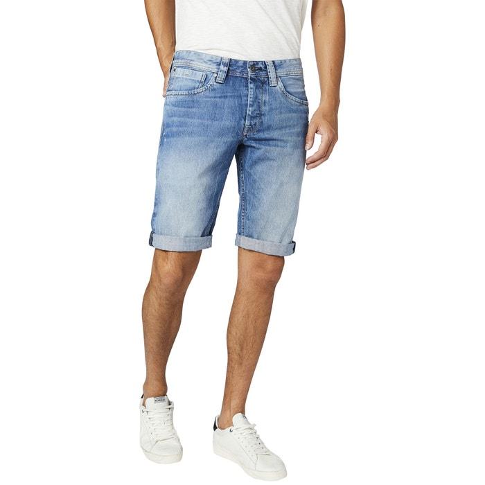 Cash Denim Bermuda Shorts  PEPE JEANS image 0