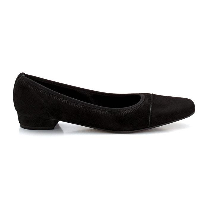 Les ballerines pam delizabeth stuart noir velours Elizabeth Stuart