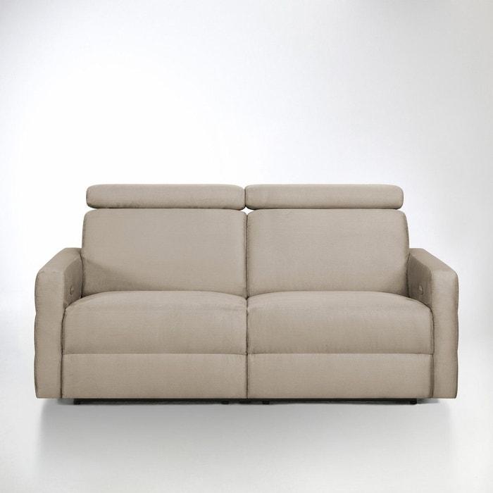canap de relaxation lectrique microfibre hyriel la. Black Bedroom Furniture Sets. Home Design Ideas