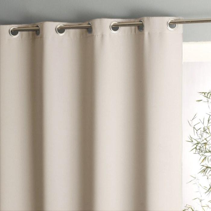 Voda Double-Sided Blackout Eyelet Curtain