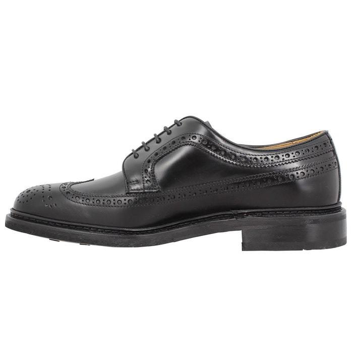Chaussures à lacets homme sebago merida cuir homme noir noir Sebago