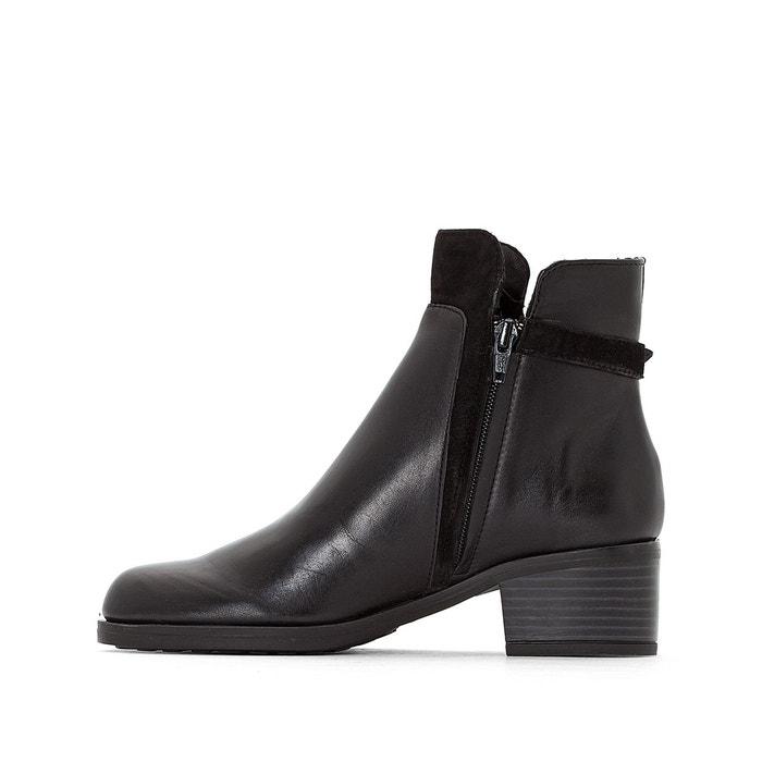 Boots cuir ethiopie Jonak