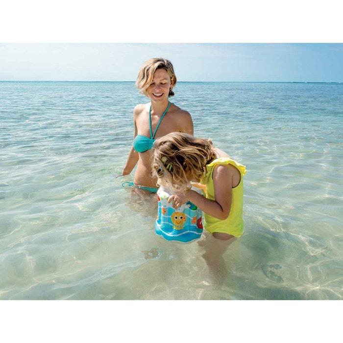 Seau de plage gonflable intex couleur unique intex la for Piscine autoportee la redoute