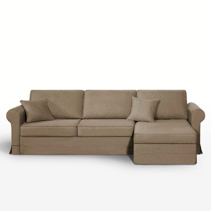 canap d 39 angle lit couchage express coton demi n la redoute interieurs la redoute. Black Bedroom Furniture Sets. Home Design Ideas
