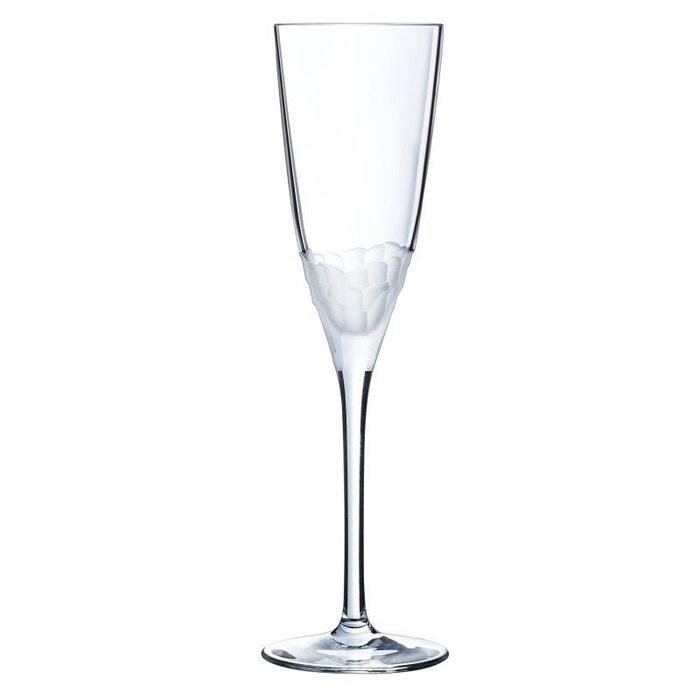 Cristal Darques Verres.6 Flutes 17 Cl Intuition