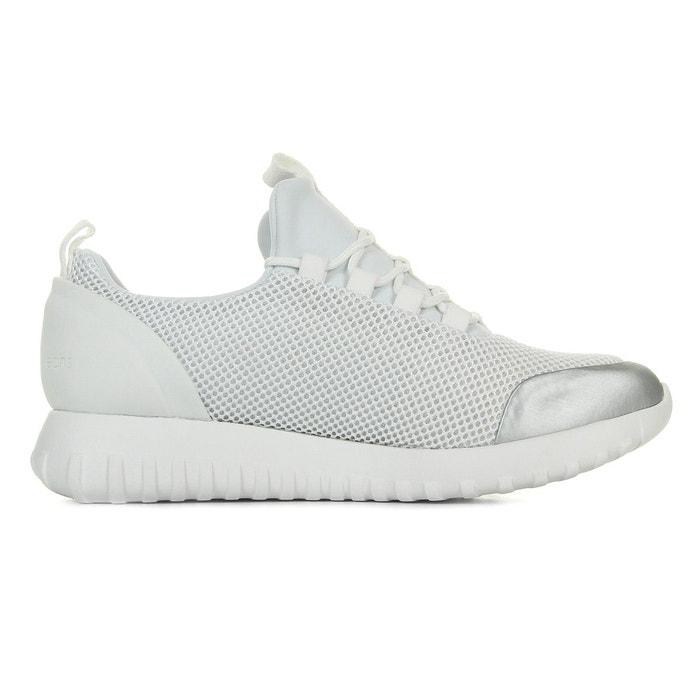 Baskets Calvin Klein Reika Noir White Silver 2rtw74oeA