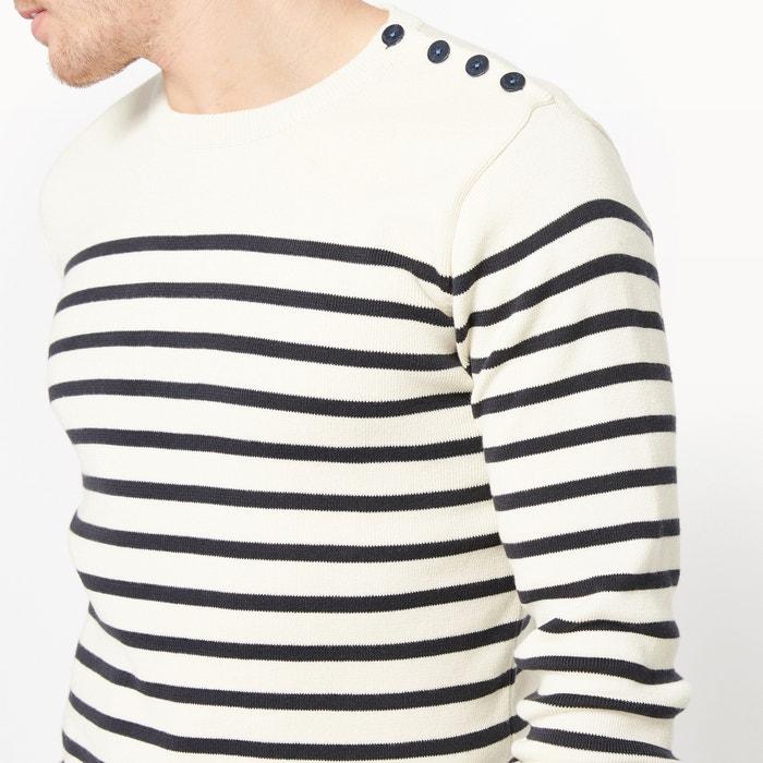 Redoute estilo de redondo La cuello con Collections Jersey marinero OqpcdCc