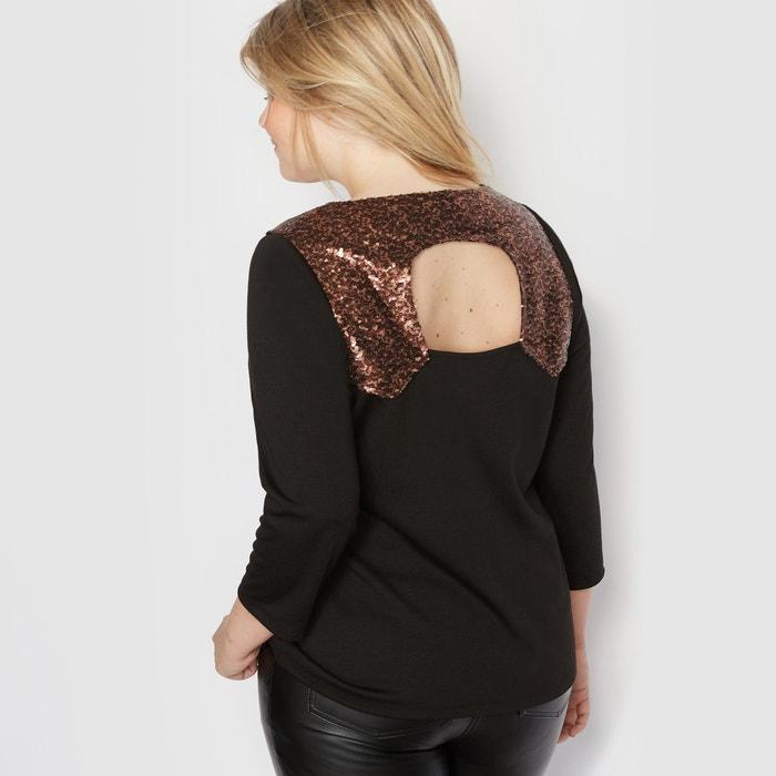 Imagen de Camiseta con detalle en la espalda de lentejuelas CASTALUNA