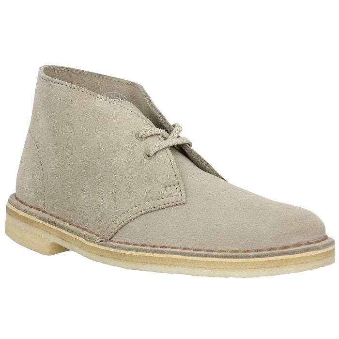 Bottines femme clarks originals desert boot velours  femme sand  sand Clarks Originals  La Redoute