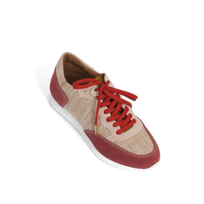 Baskets dolaine rouge Heyraud ...