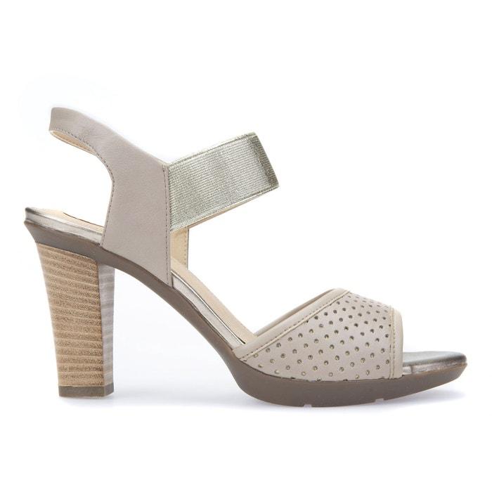 Sandali in pelle con tacco D JADALIS C  GEOX image 0